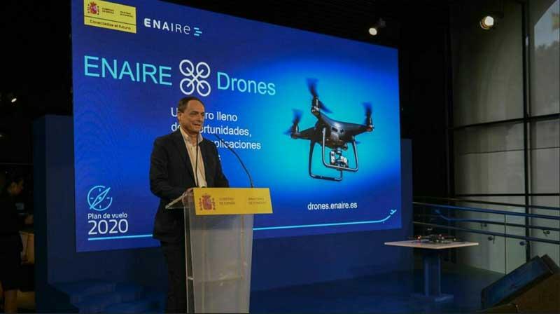 """ENAIRE presenta """"drones.enaire.es"""" una webapp que cambiará nuestra forma de volar"""